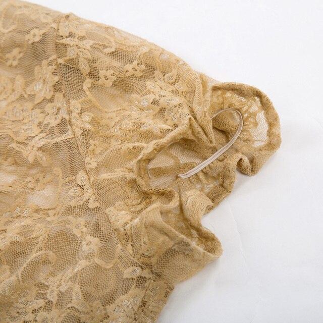 Sexy Lace Bolero Womens Elegant Shrug Short Sleeve Black Khaki Ivory Wedding Evening Prom Cropped Shrugs Open Stitch Basic Coat 5