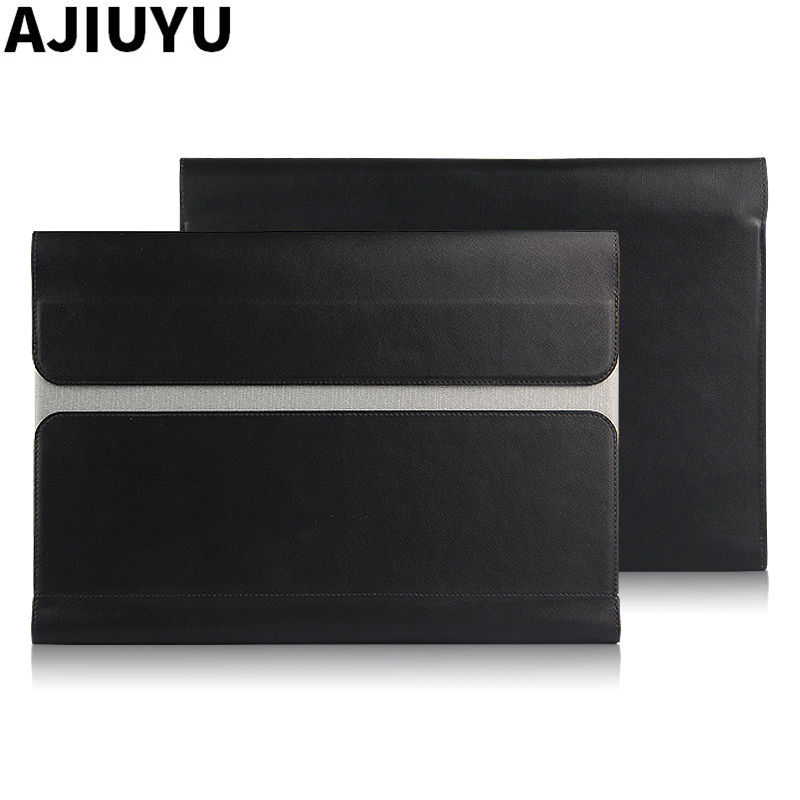 Case For Lenovo Yoga B8000 Sleeve Smart Cover Leather Tablet YOGA tab B8080 H F B8000H B8000F Case Protective 10.1 PU bags new original for lenovo thinkpad yoga 260 bottom base cover lower case black 00ht414 01ax900