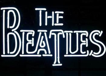 Custom The Beatles Glass Neon Light Sign Beer Bar
