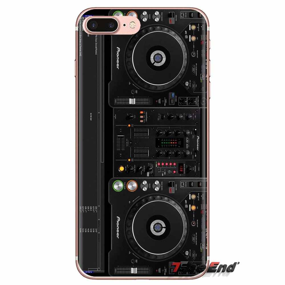 Para LG G3 G4 Mini G5 G6 G7 Q6 Q7 Q8 Q9 V10 V20 V30 X Power 2 3 K10 k4 K8 2017 Capas De Silicone Rane DJ Mixers de Áudio Guitarra Centro