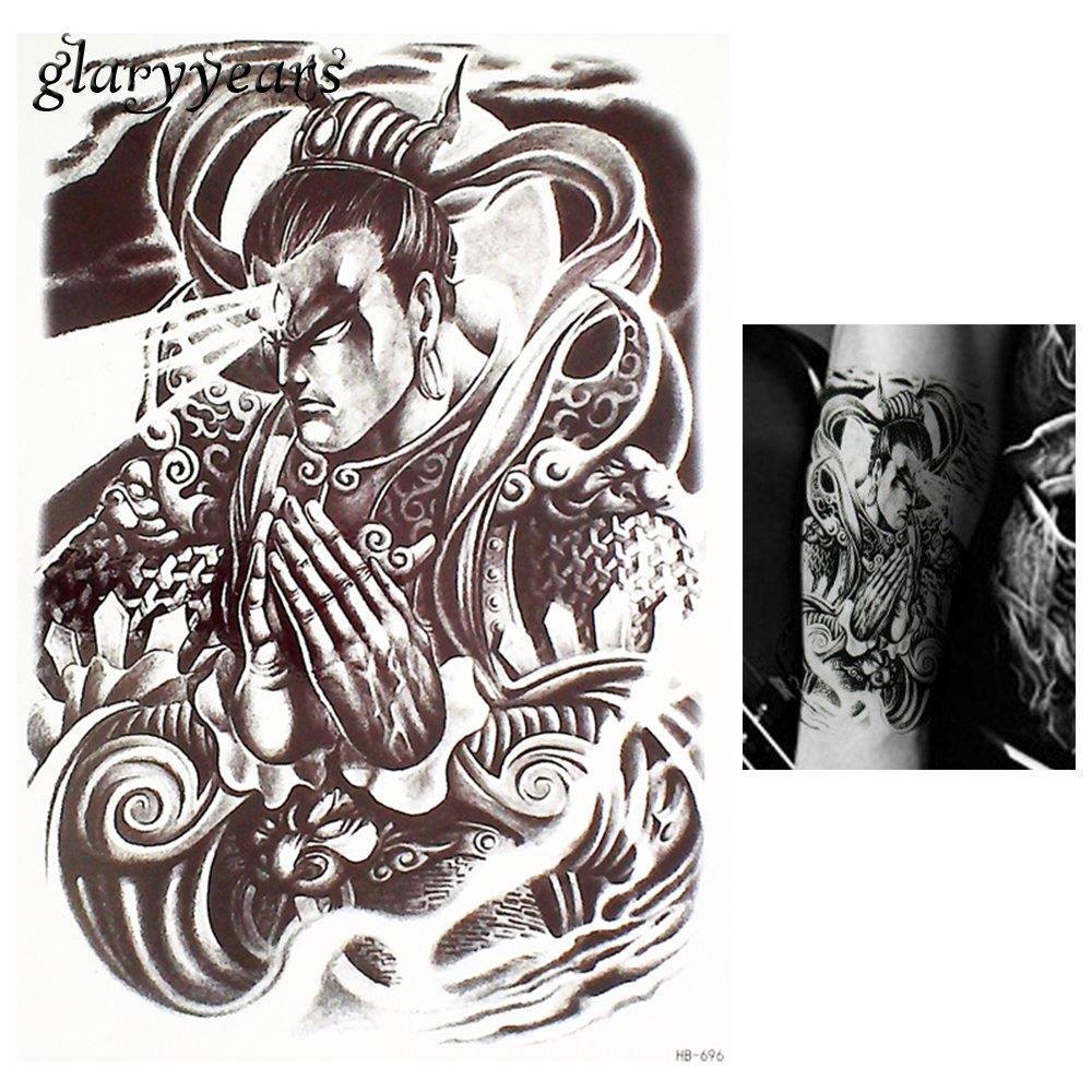 Online Shop 1 Piece Bunga Lengan Tubuh Art Decal Tato Sketsa