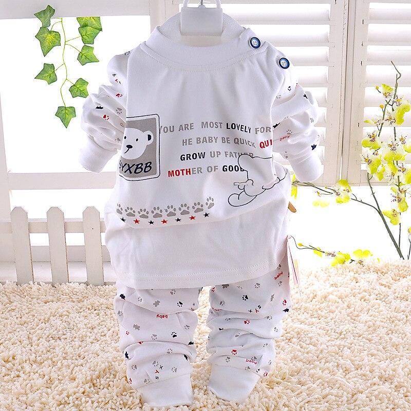 2017 summer baby boy clothes baby clothes set cotton short sleeved printing t-shirt +pants 2pcs suit newborn infant clothing set