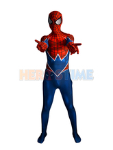 Spider-Punk Costume 3D Printing Punk-Rock Spider-man Halloween Costume