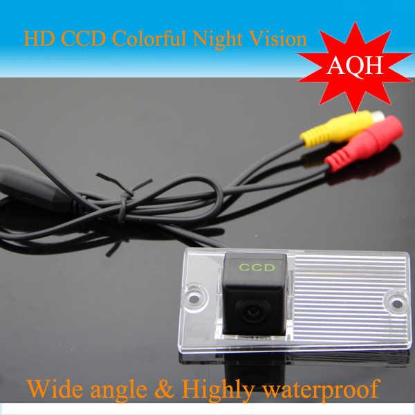 SONY CCD HD night vision untuk KIA SPORTAGE Mobil Belakang View camera sistem bantuan parkir Backup belakang monitor spion membalikkan kamera