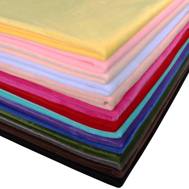 Короткая плюшевая ткань Nanchuang, очень мягкая ткань для рукоделия, подушка, обувь, игрушки, пижамы, постельное белье, швейный материал 50x160 см