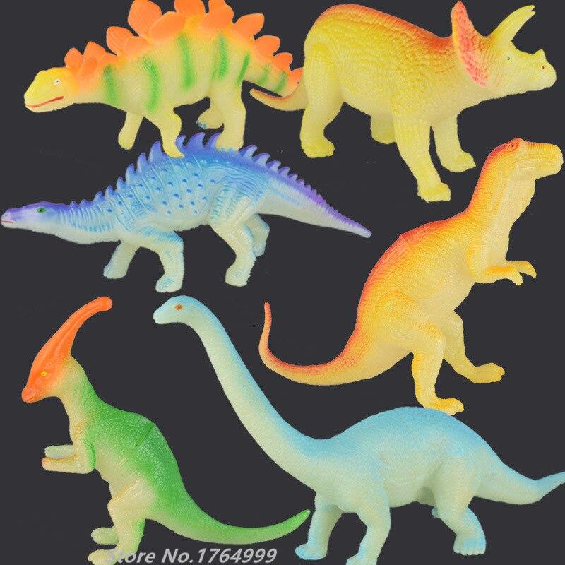 1pc 30cm Large size Glow in the Dark Toys Night Light Noctilucent Dinosaur Figur
