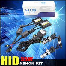 New ! H4-3 H4 55w car bixenon hid kit xenon high low Hi Lo beam Replacement 4300k 6000k 8000k 10000k 12000k 12V Car Headlights
