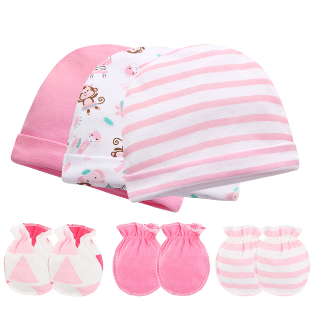 0f227df0138 2018 New In Baby   Kids Accessories Baby Hats   Caps 100% Cotton Soft Baby  Boy Girl Newborn Photography Props Gloves 0-6 Months