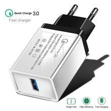 OLAF usb charger quick charge 3.0 for iphone 7 8 Plus X QC fast phone Charger For Xiaomi redmi 6a Huawei P20 Pro lite