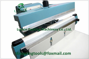 LX-PACK SEMI-AUTOMATIC FOOT SEALER Foot-Operated Impulse Sealers Foot Sealers up to 1400mm