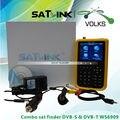 Original Satlink metros localizador de satélite Digital e aérea DVB-S & DVB-T WS-6909-COMBO