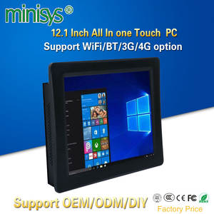 Minisys Fanless-Panel Computer All-In-One-Touch PC Intel with Sim-Slot 4200u Embedded