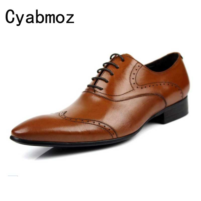 Ltalian Luxury Classic Genuine Leather Men Wedding Brogue Oxford With Wing tip Lace Up Office Party Formal Business Dress Shoes felix chu luxury classic genuine leather men wedding brogue oxford with wingtip lace up burgundy office party formal dress shoes