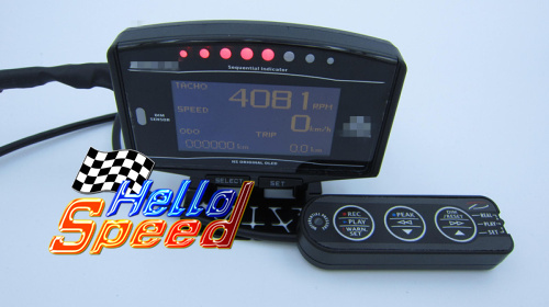 10 in 1 DEFI Style Advance ZD DF09701 OLED Digital tachometer Full Kit BF CR C2