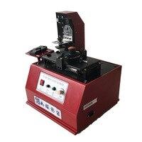 1 ADET TDY 380 Çevre Masaüstü Elektrikli Ped Yazıcı  yuvarlak Ped BASKI MAKİNESİ  yazıcı mürekkebi Makinesi 220 V/110 V|Makine Merkezi|Aletler -