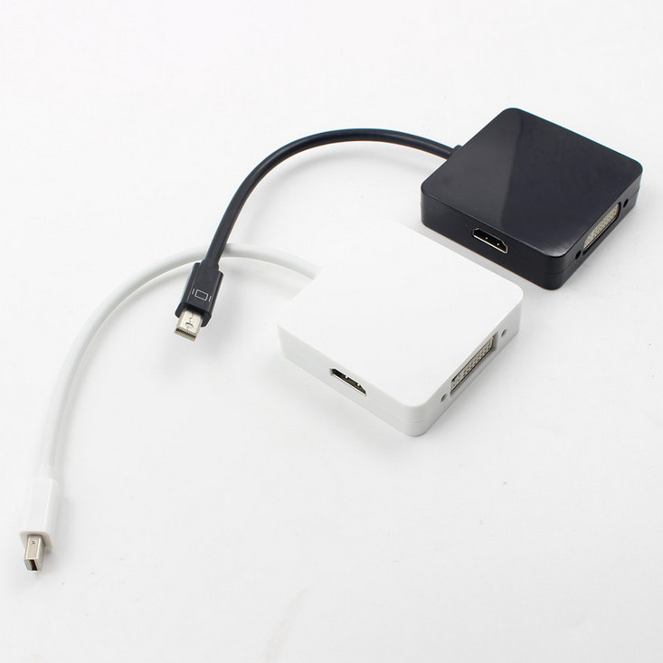 Mini Displayport DP to HDMI VGA DVI Cable Adapter Convertor 1080P for MAC PC mini displayport dp to hdmi