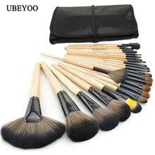 24pcs Professional Brand Makeup Brushes Set Multifunctional Fuondation Powder Brush Kit Make Up Tools Soft Horse Hair With Bag