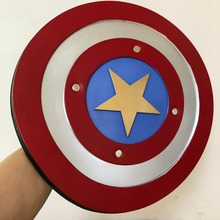 Фильм Капитан Америка 1:1 Justice круглый щит фигурка модель Хэллоуин косплей реквизит PU оружие дети подарок для ролевых игр 44 см