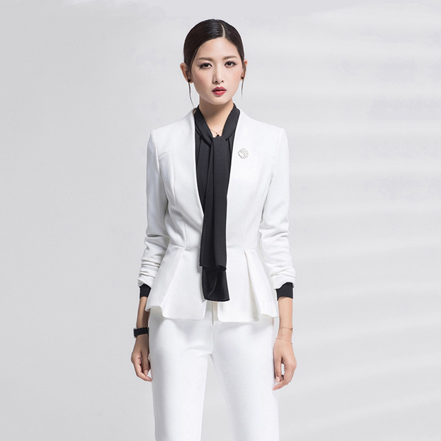Womens Suits Set 2 Pieces For The Office Korean Style Plus Size