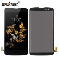 Srjtek Screen For LG K8 LTE K350N K350E K350DS LCD Display Touch Digitizer Glass Full Assembly