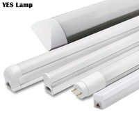 LED Tube T5 T8 Integrated Light 1FT 2FT 6W 10W LED Fluorescent Tube Wall Lamp Bulb Light Lampara Cold Warm White 110V 220V