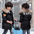 New Arrival Boys Winter Jackets Hooded Collar Teenage Boys Winter Coats Children Down Cotton Jackets Kids Outerwear