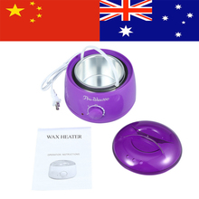 Hair Removal Hot Paraffin Wax Bean Heater Warmer Pot Machine Skin Care Depilatory US Plug 220v depilatory paraffin wax heater warmer eu plug 300g hard wax beans 12 spatulas hair removal set personal care appliance