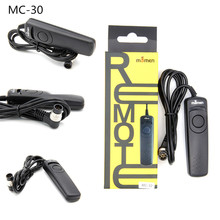 RS-60E3 MC-30 MC-DC2 Photography Camera Remote Shutter Release Camera Remote Controller Cord For Canon Nikon camera remote shutter cable release for nikon fuji kodak black