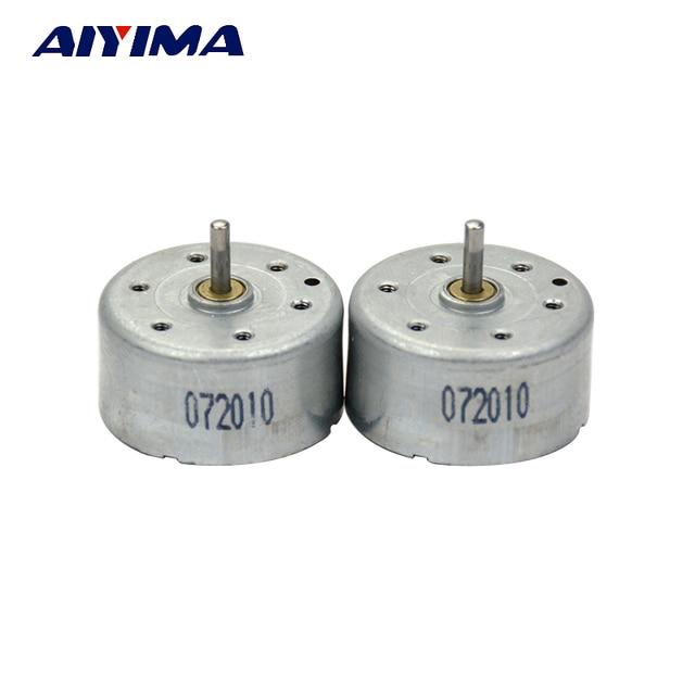Aiyima 5 stks 300 DC Motor Micro Permanente Magneet Motor 9-12 DC DIY Experimentele Motor