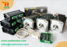 Wantai Nema 34 Schrittmotor mit 892OZ-In & Control 3 Mittellinie CNC Maschinen & Mühle