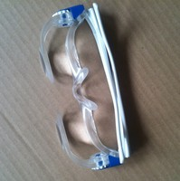 Glasses Type Magnifying Glass Head Magnifier Loupe for Myopes TV Screen Watching White Color