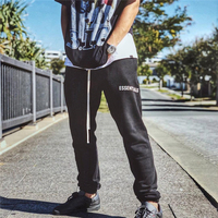Europe and the United States high street retro essentials loose double pants INS hip hop beam foot pants men and women tide