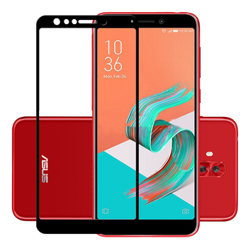 25 Pcs/Lot Full Coverage Screen Protectors For Asus Zenfone 5 Lite/5Q ZC600KL Scratch Proof Protective Film Tempered Glass