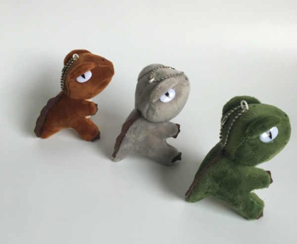 Милый динозавр детская комната подвесная ткань ремесло игрушка тираннозавр рекс мультяшный брелок для ключей сумка маленькая подвеска автомобиль застежка-ключ Декор