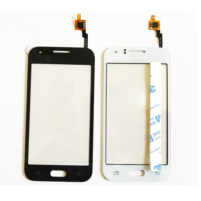 New For Samsung Galaxy J1 J100F J100H J100 Touch Screen Digitizer Glass Front Lens Panel Sensor + 3M Adhesive Tape