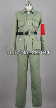 Axis Powers Hetalia China uniform cosplay costume
