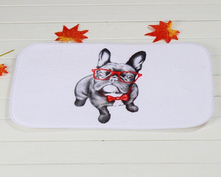Новый Дизайн mr собака дома передней двери Нескользящие Коврики Ковры 40x60 см входная дверь Коврики S Гостиная Спальня коврики Кухня ковры