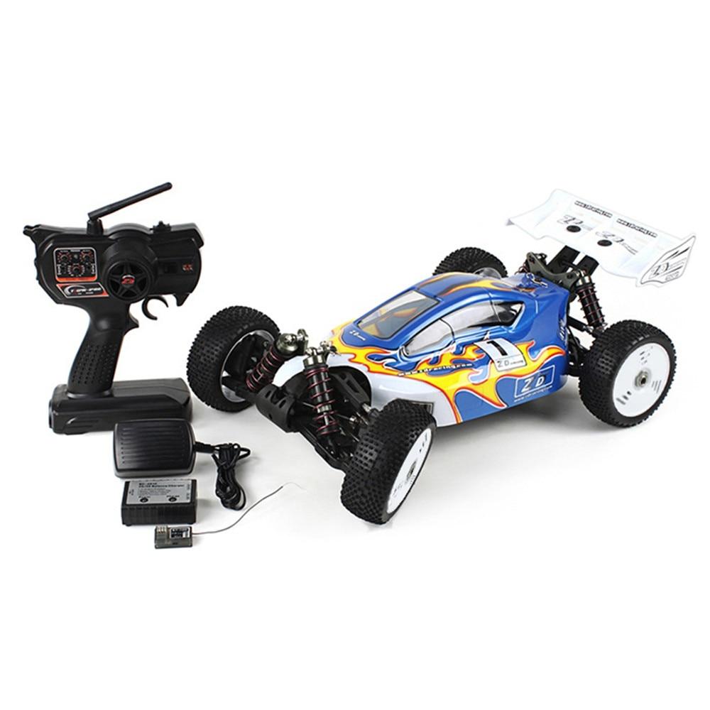 ZD Racing RC Cars jouet 1:8 Course tout terrain RC amortisseurs de camion RTR 2.4GHz 4WD 9kg Servo à couple élevé conduite Racing voiture jouets