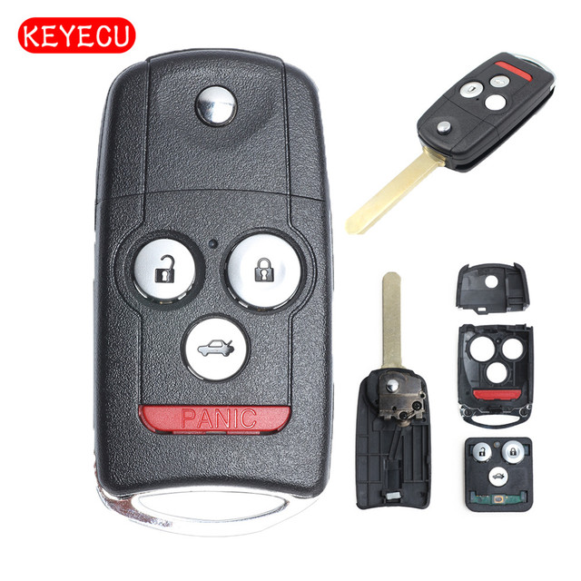 Keyecu Replacement Remote Key 3 1 On 313 8mhz Fob For Honda Accord Coupe 2008 2017 Fcc Mlbhlik 1t