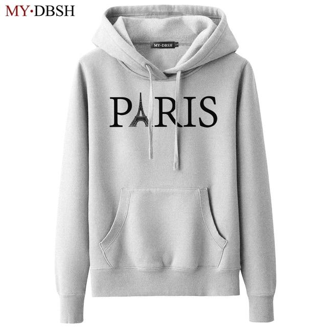 56401022cfd Brand Harajuku Sweatshirts Women Hoodies Fashion Paris Eiffel Tower Printed  Hoodie Casual Long Sleeve Pullovers Moletom