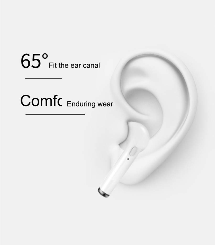 6 i7p mini wireless bluetooth earphone