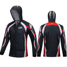 3 Colors Available  DAIWA New outdoor fishing hoodie top quick drying breathable hiking trekking sunscreen fishing shirt