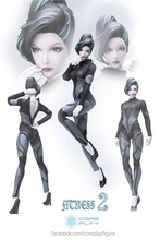 Nuclear Play Coreplay 12″  Female Body Fitness 2 1/6 Scale Head + Clothing Set 12″  Action Figure Collectible Doll Toys