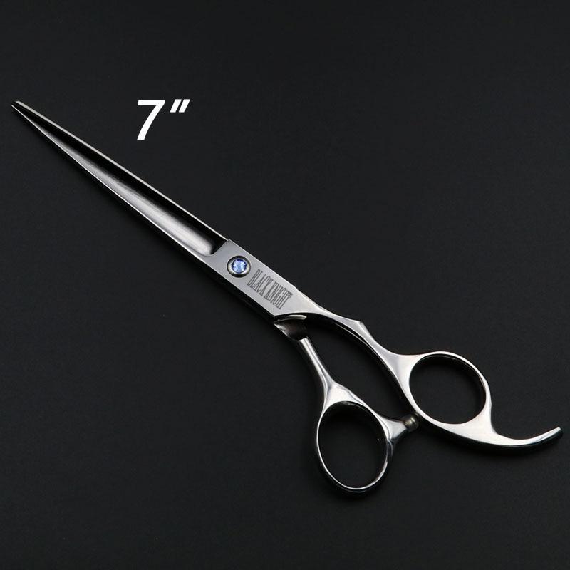7 дюймов профессиональные ножницы для стрижки волос, Парикмахерские Парикмахерская ножницы для домашних животных ножницы для стрижки соба...