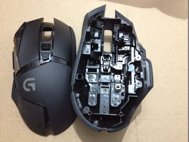 ec5224ade8f 1pc original new top case mouse top shell for Logitech G502 genuine mouse  housing