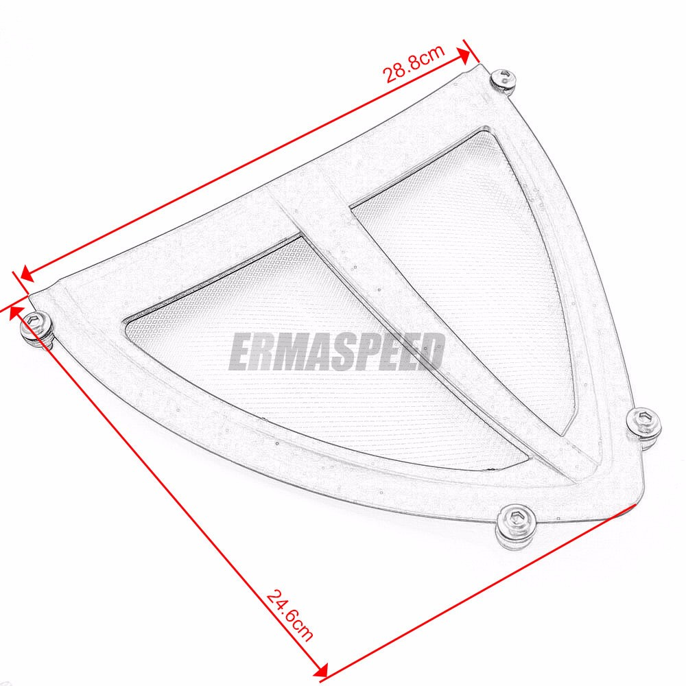 Motorcycle Exhaust Header Grille Guard Cover Antifouling