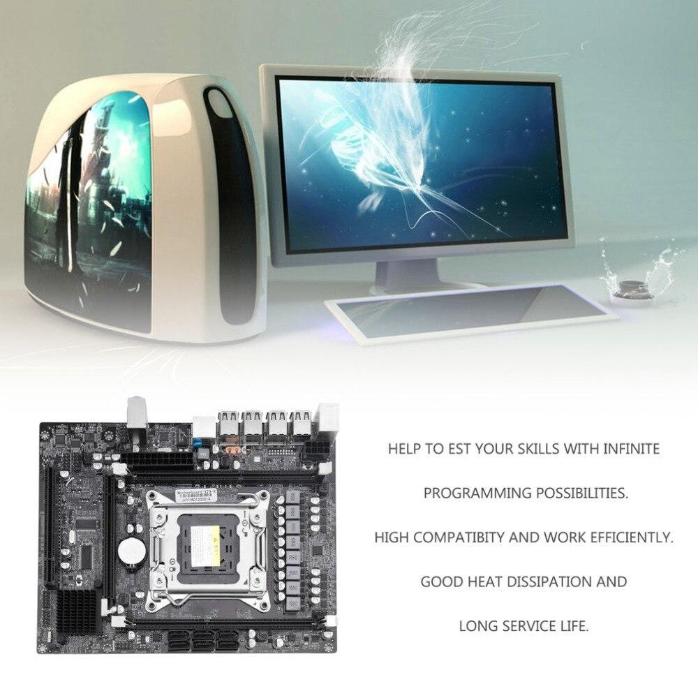 Практичный X79 настольный компьютер материнская плата Процессор разъем LGA 2011 Тип памяти DDR3 1866 мГц 1600 мГц 1333 мГц