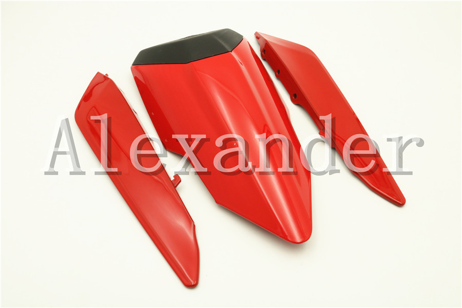For Ducati 1299 Panigale 2015 2016 2017 Red Motorcycle Rear Seat Cover Cowl Solo Motor Seat Cowl Rear