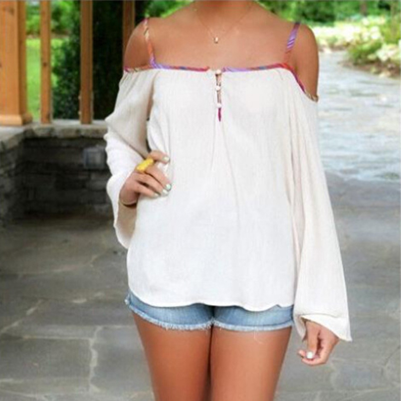 Images of Womens White Tops - Reikian