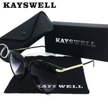 KAYSWELL Luxury Brand Designer Women Retro Sun